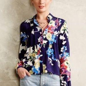 1d282ec16c Anthropologie Yumi Kim neotropic floral silk top